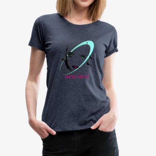 DIVBLESS - Maglietta Premium da donna