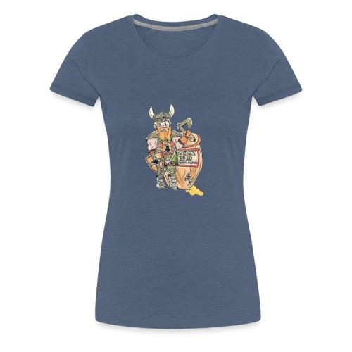 Wahre Helden, Wargosch der Zwerg - Frauen Premium T-Shirt