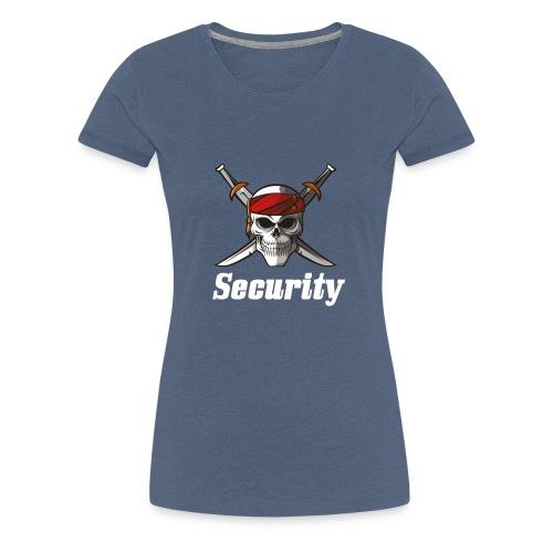 Security - Camiseta premium mujer