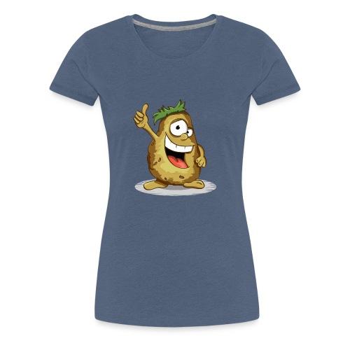 Denke positiv - Frauen Premium T-Shirt