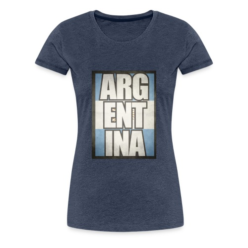 Argentina - Frauen Premium T-Shirt