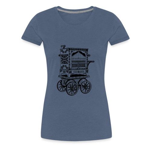 Drehorgel - Frauen Premium T-Shirt