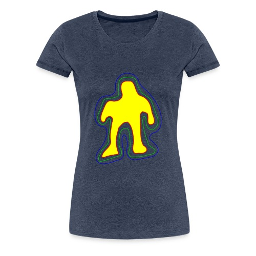 The famous yellow man - Women's Premium T-Shirt