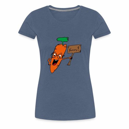 Kalle die Karotte - Frauen Premium T-Shirt