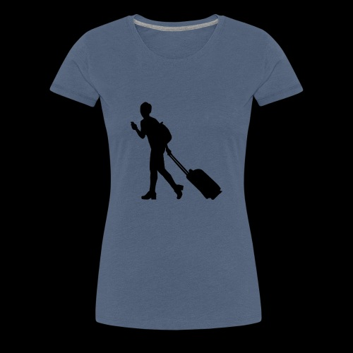 travel - Frauen Premium T-Shirt