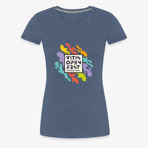 VitisOpenFest design - Naisten premium t-paita