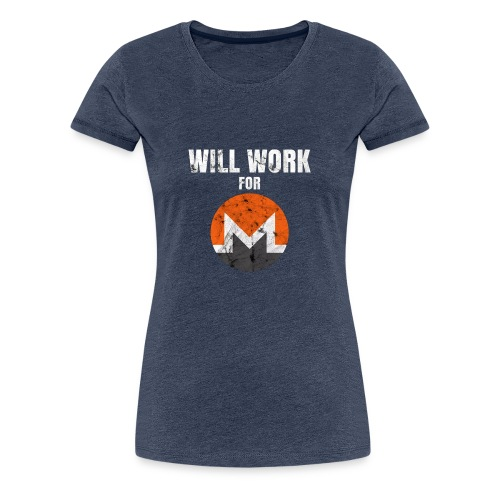 XMR T-Shirt - Frauen Premium T-Shirt