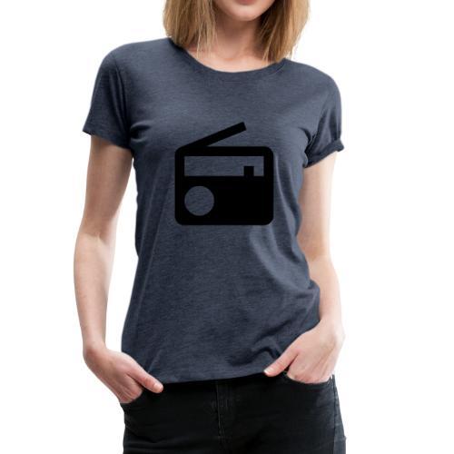 radio10.7logo neu - Frauen Premium T-Shirt