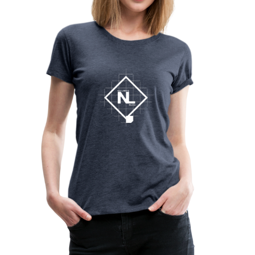No Limits Logo Weiß - Frauen Premium T-Shirt