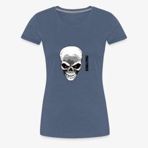SKULL - Vrouwen Premium T-shirt
