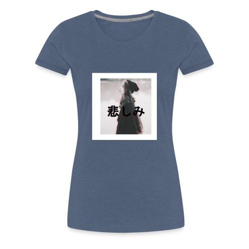 Trauer in VHS - Frauen Premium T-Shirt