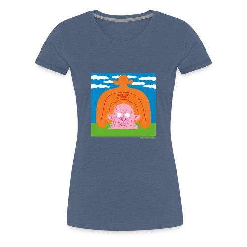 Sun Giant and Demon Head - Frauen Premium T-Shirt