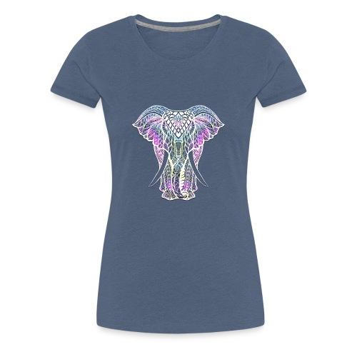 Elefant Nacre - T-shirt Premium Femme