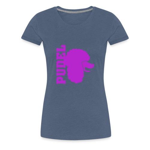 Pudel - Frauen Premium T-Shirt