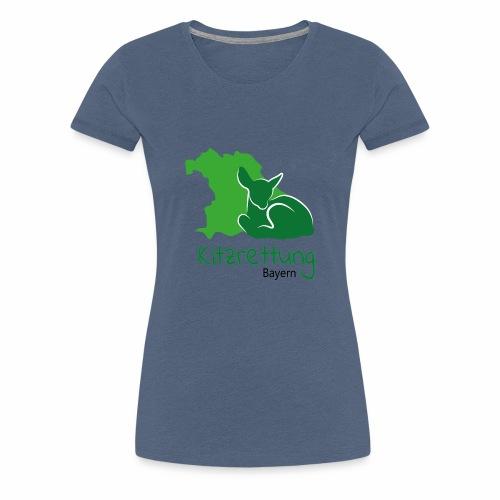 Logo Kitzrettung Bayern - Frauen Premium T-Shirt