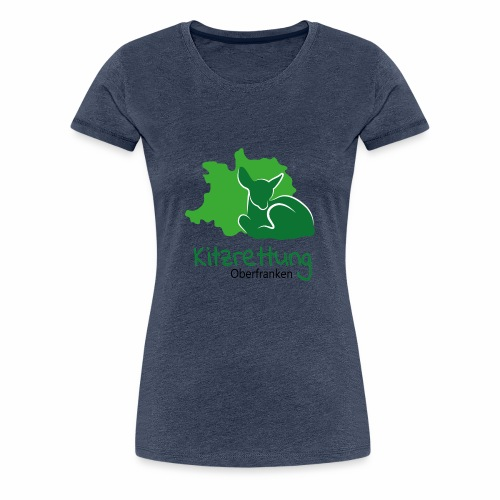 Kitzrettung Oberfranken - Frauen Premium T-Shirt