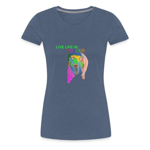 Live Colour - Women's Premium T-Shirt