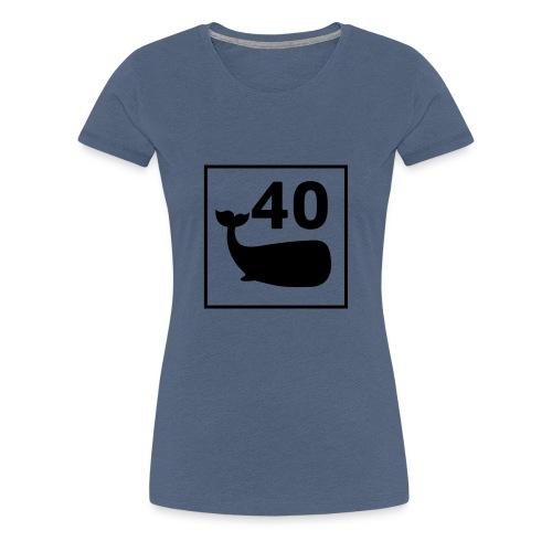 print-logo - Premium T-skjorte for kvinner