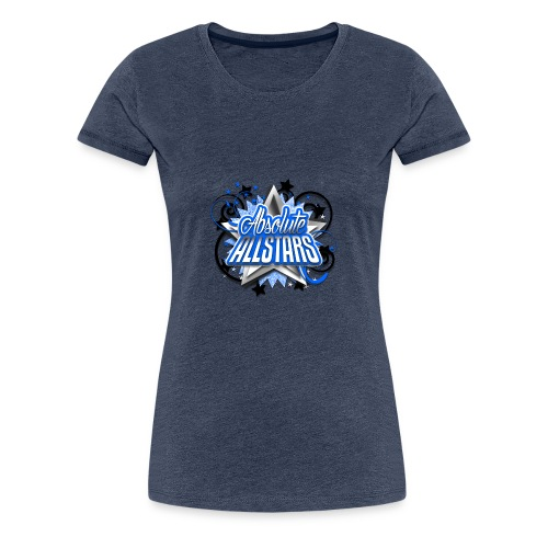 Absolute Allstars Logo - Women's Premium T-Shirt