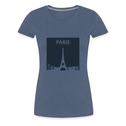 Paris - Collection 2015 - T-shirt Premium Femme