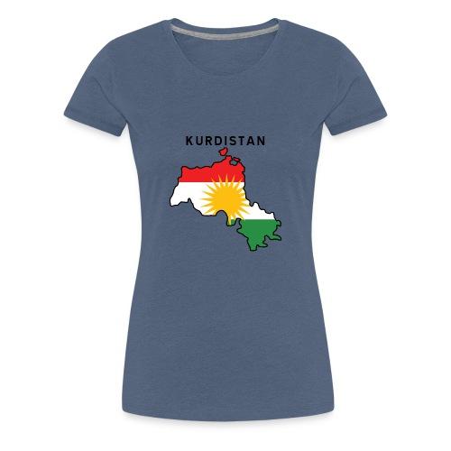 Kurdistan - Premium-T-shirt dam