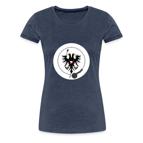 Hanseatic Jugger Logo weiß - Frauen Premium T-Shirt