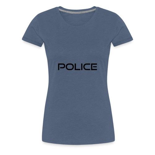 Polizei Spruch - Graduierung - Geschenk - Frauen Premium T-Shirt