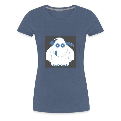 Pinky Monster - Women's Premium T-Shirt