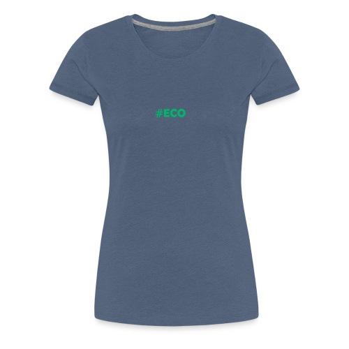 #ECO Blue-Green - Frauen Premium T-Shirt