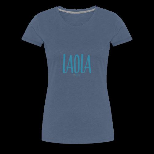 ola - Camiseta premium mujer