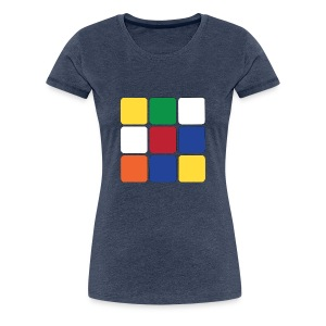 Würfel - Frauen Premium T-Shirt