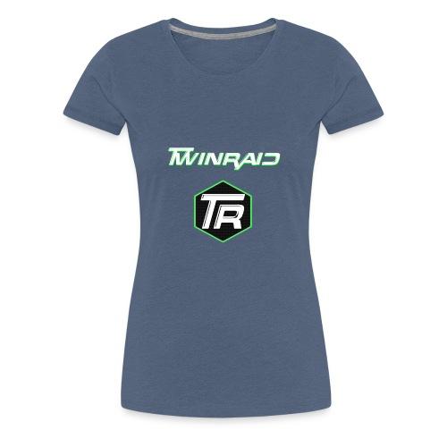 twinRAID Logo - Frauen Premium T-Shirt