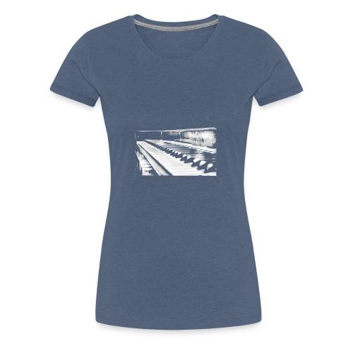 piano weiß - Frauen Premium T-Shirt