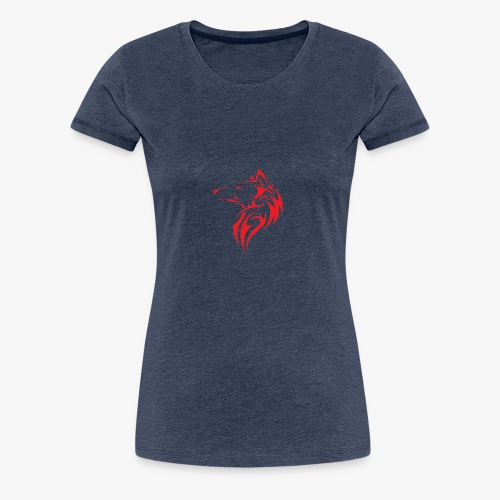 The NoCopyright BassBooster Logo No black - Vrouwen Premium T-shirt