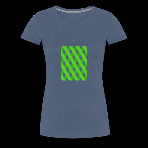 Gutter Green - Frauen Premium T-Shirt