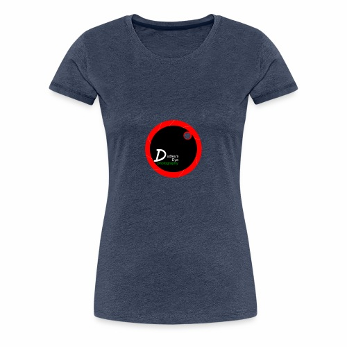 DudleysEye watermark 2017 - Women's Premium T-Shirt