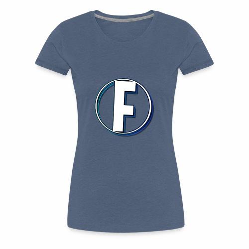 FLANQER - R - BLUE - Vrouwen Premium T-shirt