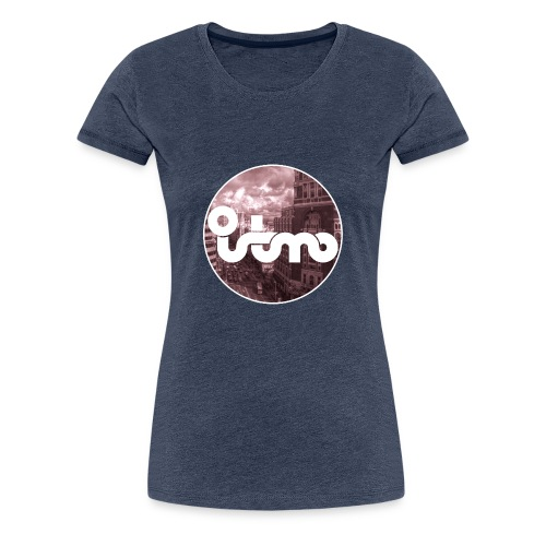 VIVE MADRID - Camiseta premium mujer