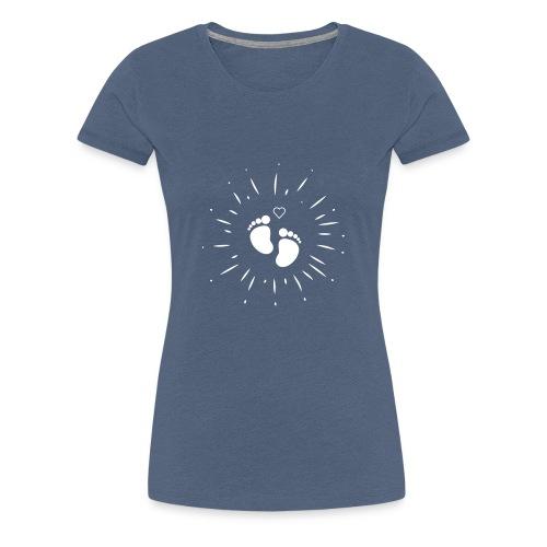 Naissance bébé pour papa ou maman - T-shirt Premium Femme