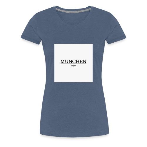 Muenchen 089 - Frauen Premium T-Shirt