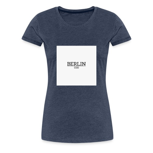 Berlin 030 - Frauen Premium T-Shirt