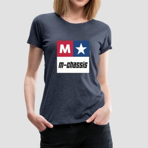 M-Chassis white - Frauen Premium T-Shirt