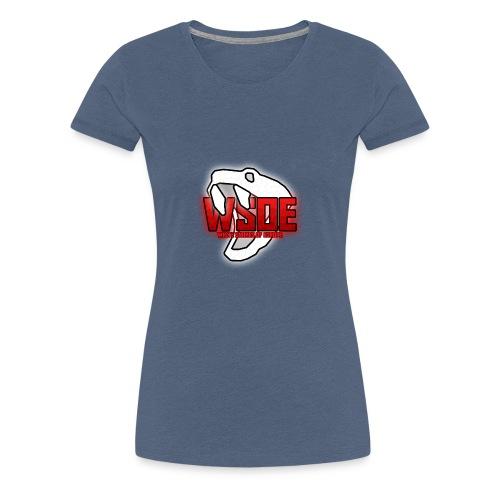 WSOE Logo cut - Frauen Premium T-Shirt