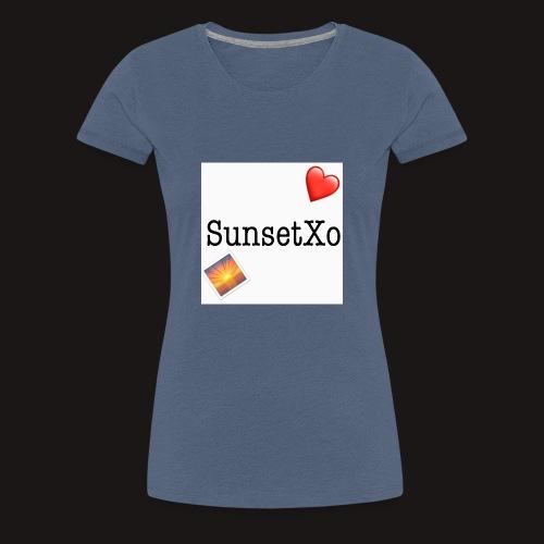 sunsetxo - Women's Premium T-Shirt