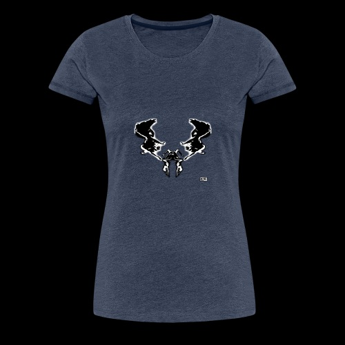 scarabe e Black - T-shirt Premium Femme
