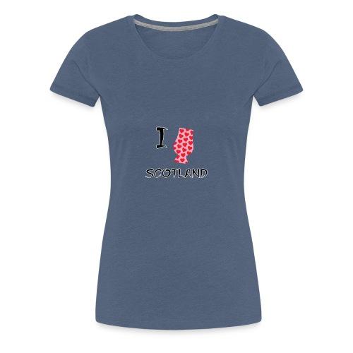 I Love Scotland - Glencairn - Women's Premium T-Shirt
