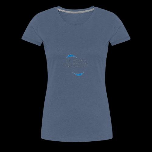 Ne jamais sous estimer une fille - T-shirt Premium Femme