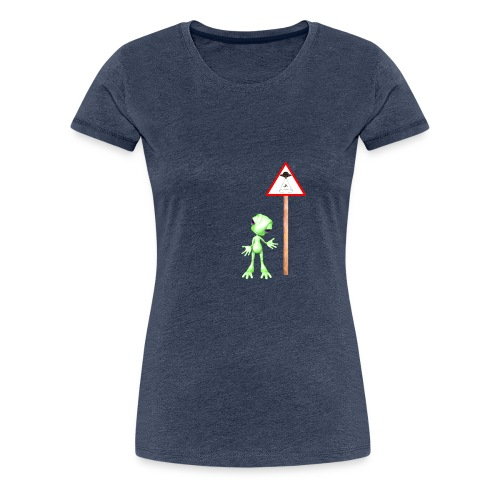 Achtung Alien Entführung - Frauen Premium T-Shirt
