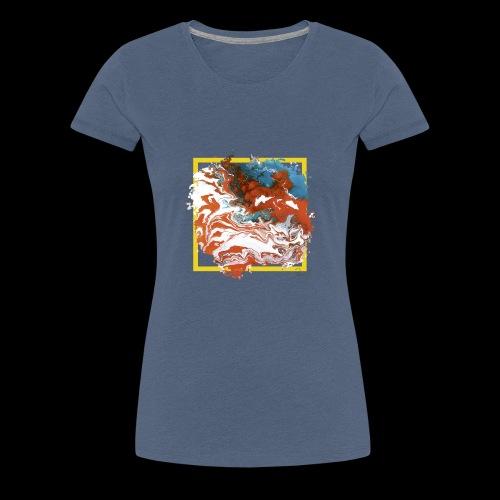 colorful frame - Frauen Premium T-Shirt
