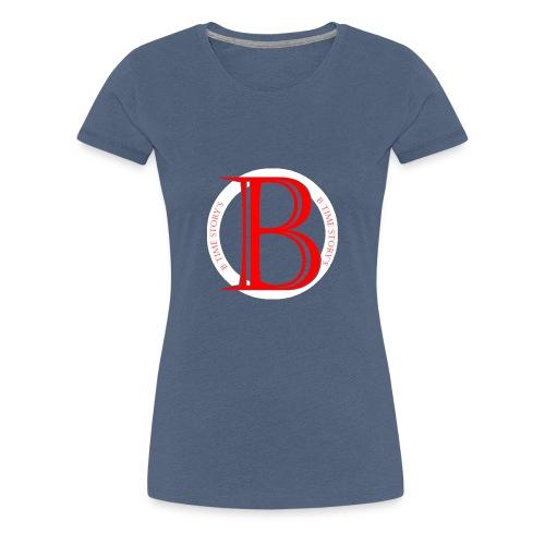 Wit Rood logo - Vrouwen Premium T-shirt